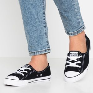 Converse Chuck Taylor All Star Leather Ballet Lace